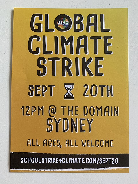 Climate Strike 20 September